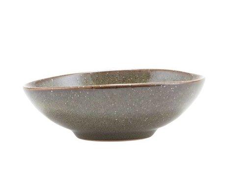 Housedoctor Bowl Lake green ceramic 13x4.2cm