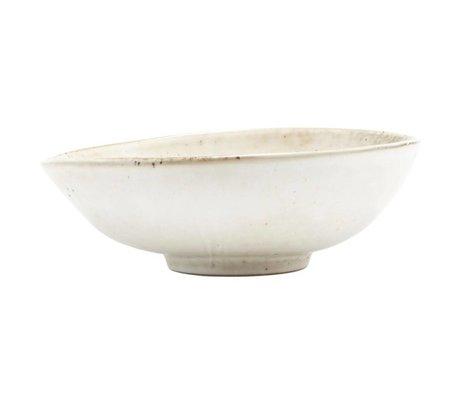 Housedoctor Bowl Lake gray ceramics 16,8x5,5cm