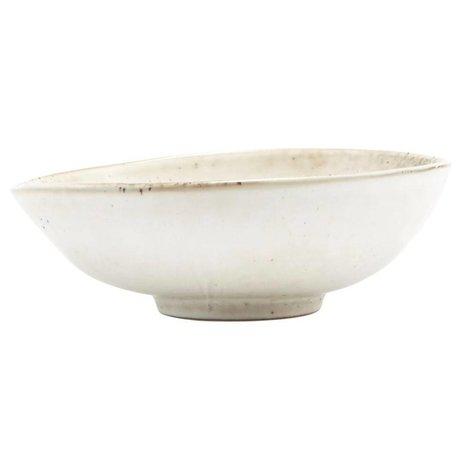 Housedoctor Lac Bowl céramique gris 16,8x5,5cm