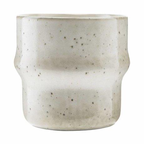 Housedoctor Mug Lake gray ceramic ¯8,3x8,3cm