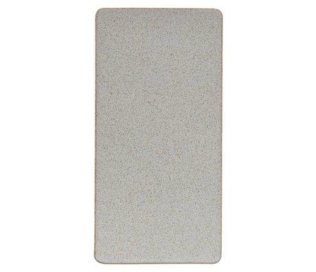 Housedoctor Platte Ivy Sand Keramik 30,2x15cm
