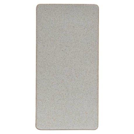 Housedoctor sable plaque céramique Ivy 30,2x15cm