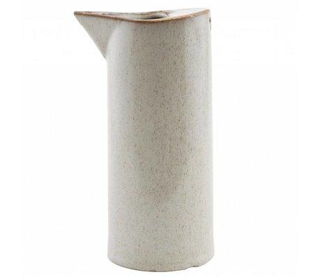 Housedoctor Peut Ivy céramique sable ¯8x18cm
