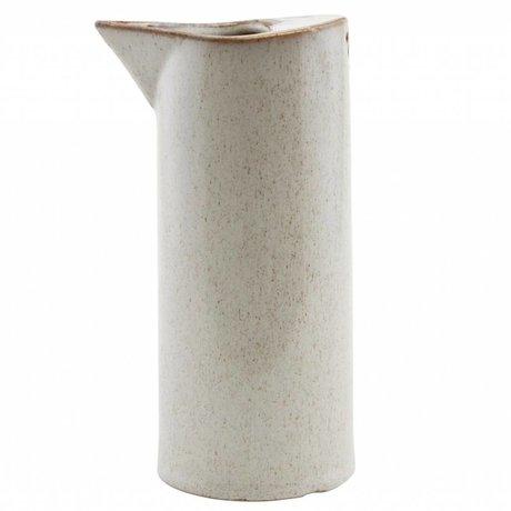 Housedoctor Kann Sand Keramik ¯8x18cm Ivy