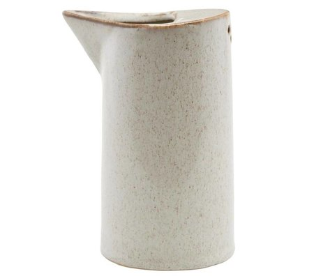 Housedoctor Kann Sand Keramik ¯7,8x14cm Ivy