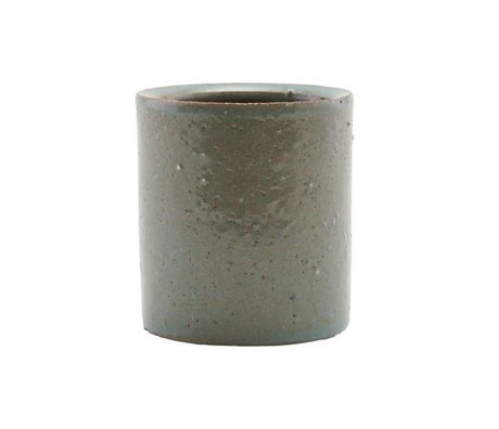 Housedoctor Pot gray / green clay ¯112x15cm
