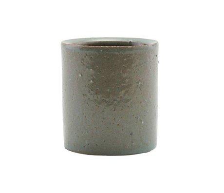 Housedoctor Pot grijs/groen klei 112x15cm