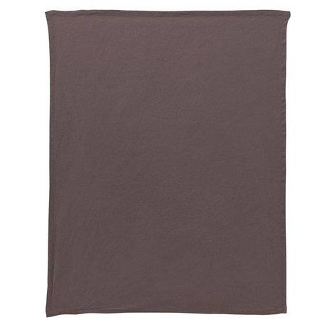 Housedoctor Durch dishcloth graue Leinwand 70x50cm