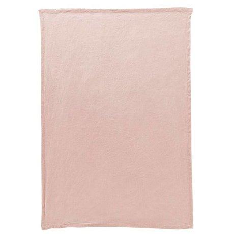 Housedoctor Theedoek By roze linnen 70x50cm