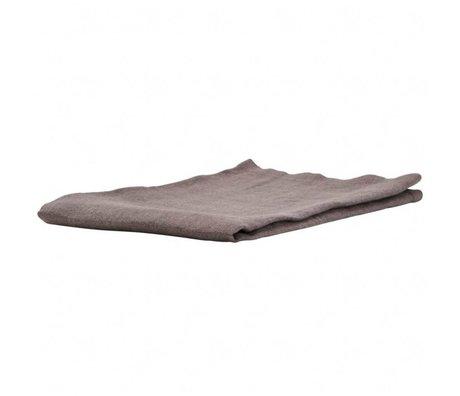 Housedoctor Durch graue Leinenservietten 45x45cm