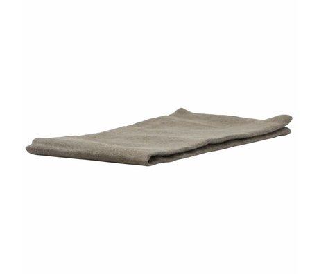 Housedoctor Par serviettes en lin vert 45x45cm