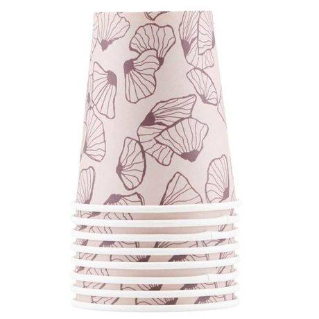 Housedoctor Paper cups Marecca multicolor cardboard 9cm