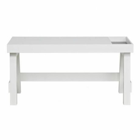 BePureHome Office Grooving white pine 75x150x66cm