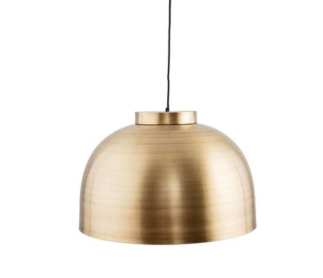 Housedoctor Hanglamp Bowl brass 50,2x33cm