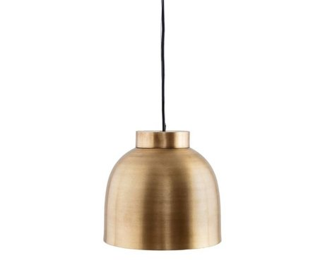Housedoctor Hanglamp Bowl brass Ø22x20cm