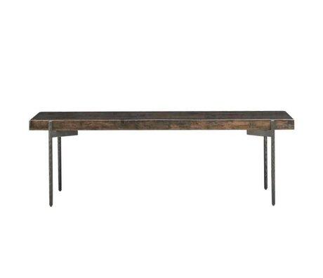 Housedoctor Fermer table basse bois 140x50x45cm
