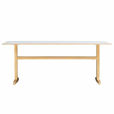 Housedoctor Table laiton gris 200x80x74cm