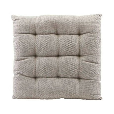 Housedoctor Chair cushion Field gray cotton 35x35cm