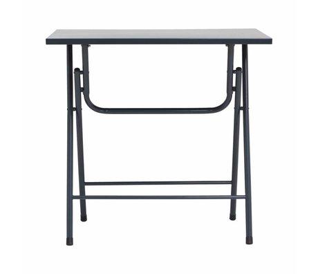 Housedoctor Folding table Fold it gray iron 80x60x72cm