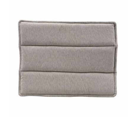 Housedoctor Chair cushion Lounge gray cotton 48x55cm