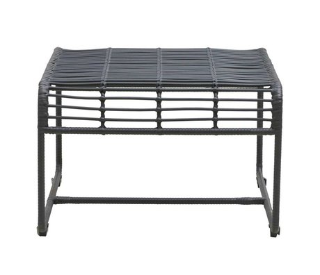 Housedoctor Table Oluf black iron 61x58x38cm