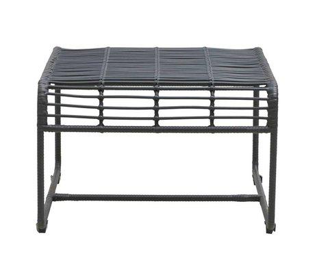 Housedoctor Table Oluf fer noir 61x58x38cm