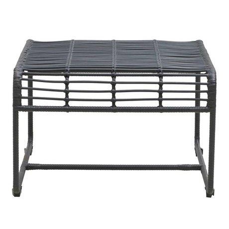 Housedoctor Oluf schwarz Eisen Tisch 61x58x38cm