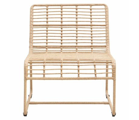 Housedoctor Chaise longue Oluf repassez naturellement 61x74x71,5cm