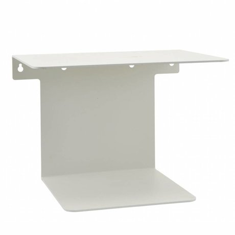Housedoctor Bookshelf white steel 32x25x23cm