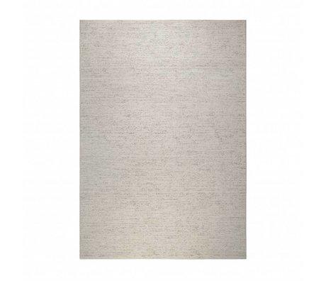 Zuiver Rug Rise beige coton marron 200x300cm