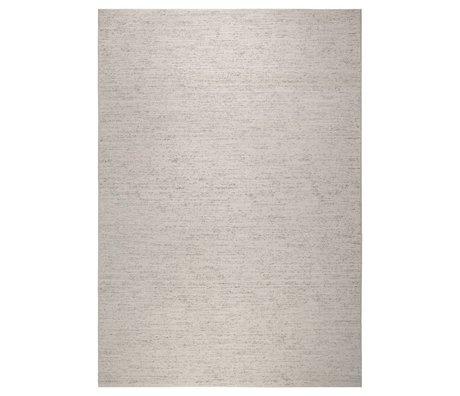 Zuiver Vloerkleed Rise beige bruin katoen 170x240cm