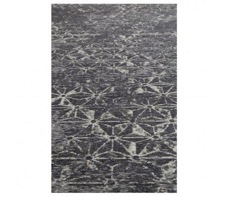 Zuiver Vloerkleed miller blauw textiel 200x300cm
