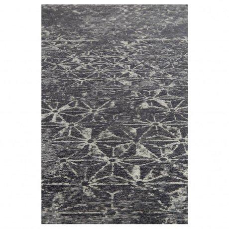 Zuiver Tapis meunier bleu textile 200x300cm