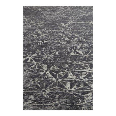 Zuiver Vloerkleed miller blauw textiel 170x240cm