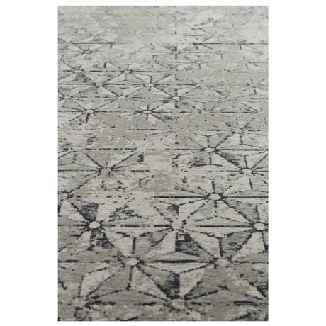 Zuiver Tapis meunier gris textile 200x300cm