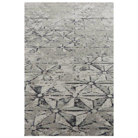 Zuiver Teppich Miller grau Textil 200x300cm