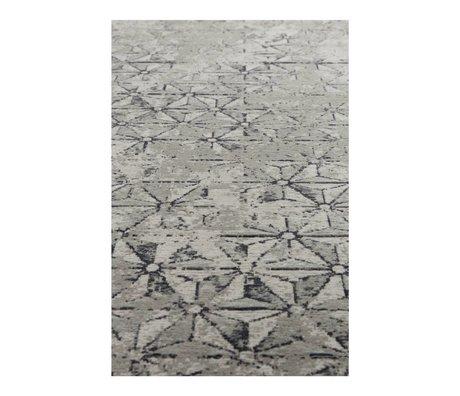 Zuiver Carpet miller gray textile 170x240cm