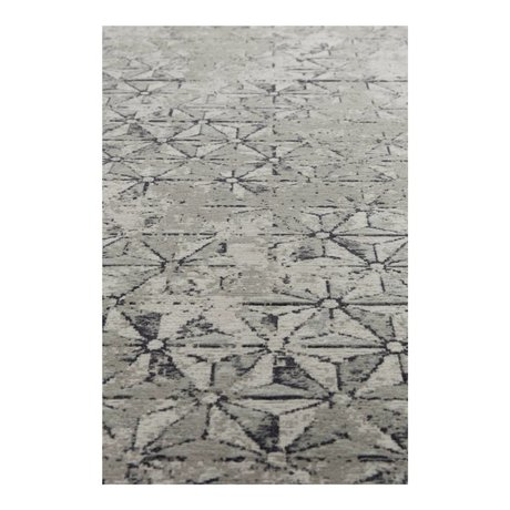 Zuiver Tapis meunier gris textile 170x240cm