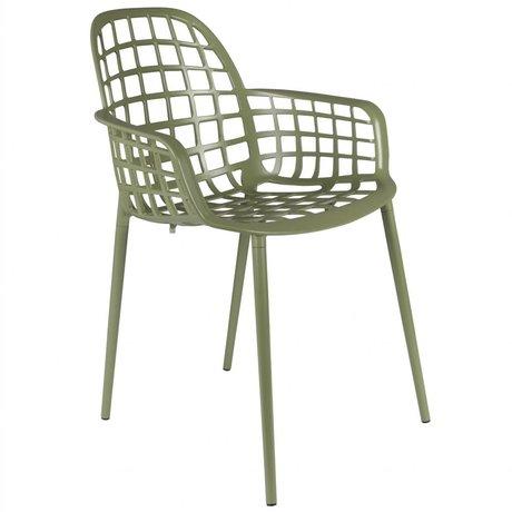 Zuiver Chaise de jardin Albert Kuip métal vert 59,5x59,5x82,5cm