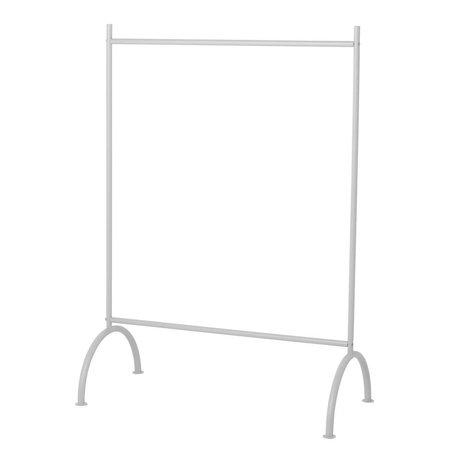 Ferm Living Porte-vêtements enfants gris métal 88x44x122,5cm