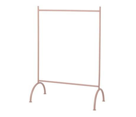 Ferm Living Kledingrek kids dusty roze metaal 88x44x122,5cm