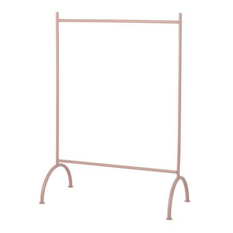 Ferm Living Kleiderständer Kinder staubig rosa Metall 88x44x122,5cm