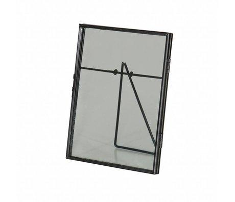 BePureHome Foto-Rahmen-Galerie Black Metal 18x14,7x1,7cm
