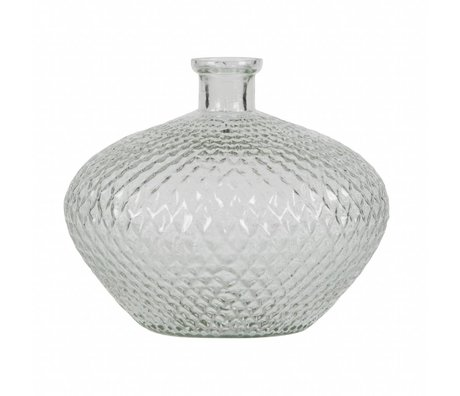 BePureHome Vaas Proud transparant glas 24x29x29cm