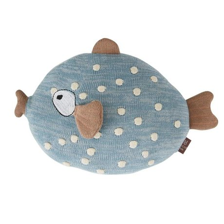 OYOY Dekokissen Little Finn Multicolor Textil 23x30x15cm