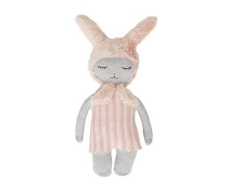 OYOY Hopsi poupée bunny multicolore 47x24cm