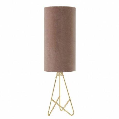 OYOY Tafellamp Toko roze velvet