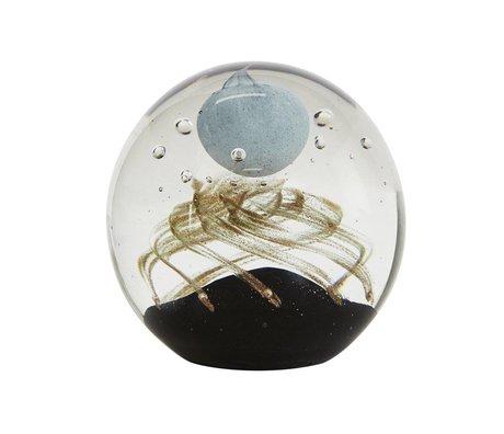 OYOY Ornament paper press glas 9cm