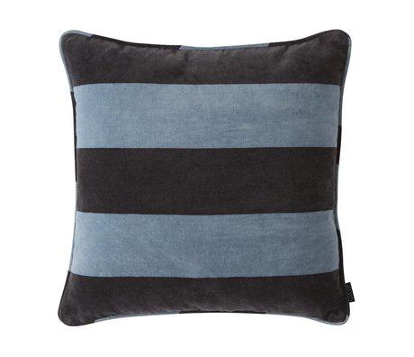OYOY Coussin Confect bleu coton 50x50cm
