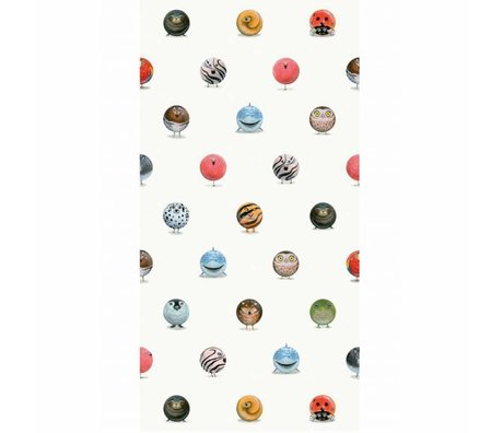 KEK Amsterdam Wallpaper Animal Marbles multicolor non-woven paper 97.4 x 280cm